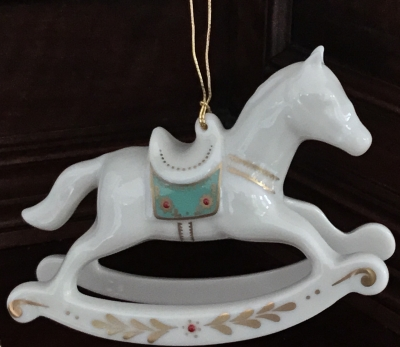 Lenox Rocking Horse Ornament