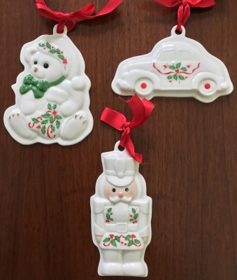 Lenox Holiday Cookie Presses, Set of 3