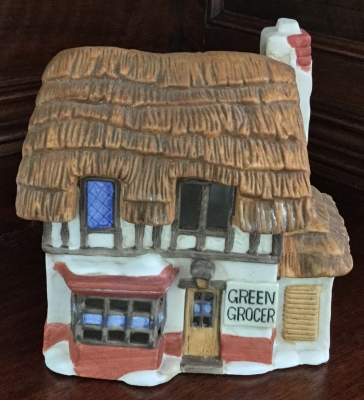 Department 56 Shops of Dickens' Village, Green Grocer