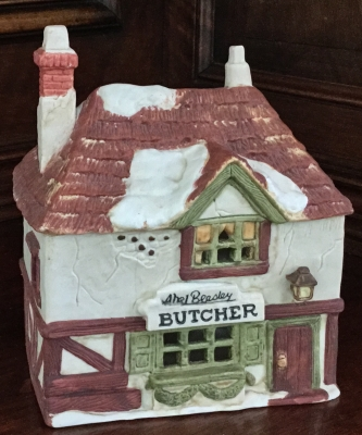 Department 56 Shops of Dickens' Village, Butcher