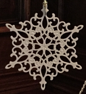 Lenox 2001 Snow Fantasies Snowflake Ornament