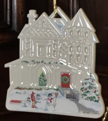 Lenox Victorian Home, Cambridge Manor Ornament