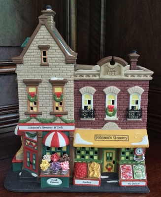 Department 56 Christmas in the City Series, Johnson's Grocery & Deli