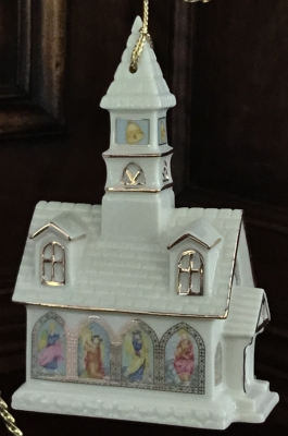 Lenox Berkshire Chapel Ornament