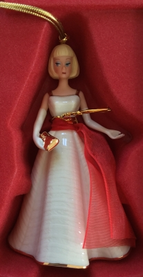 Lenox Barbie Holiday Dance Ornament