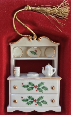 Lenox Holiday Home Hutch Ornament