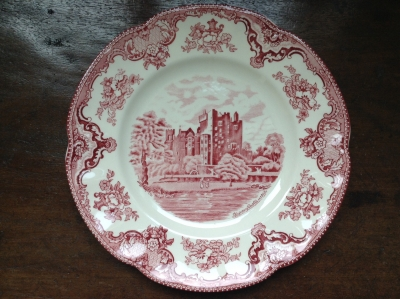 Johnson Bros Blarney Castle Plate