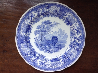 Spode Aesop's Fables Plate
