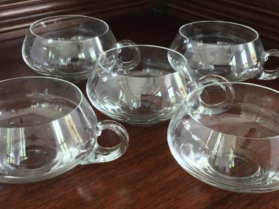 Punch Glasses, Set of 5