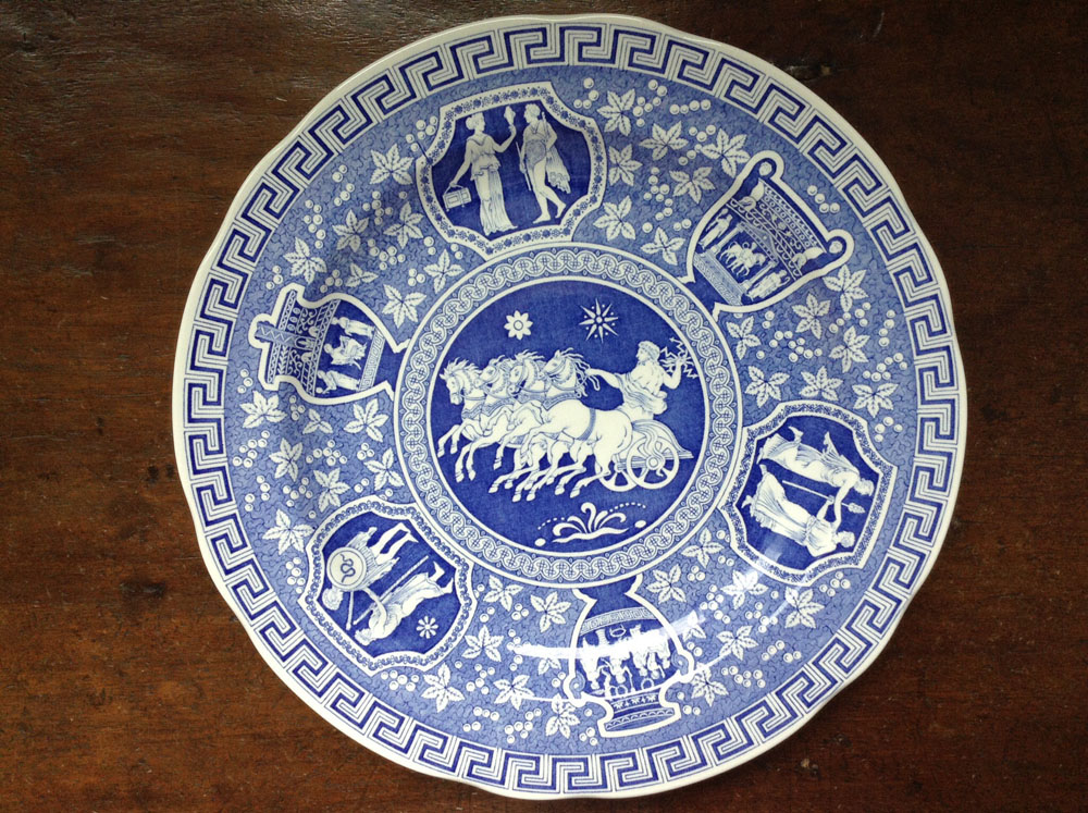 Spode Blue Room Collection Greek Plate